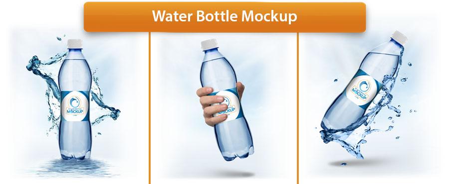 Plastic Bottle Mockup - 3