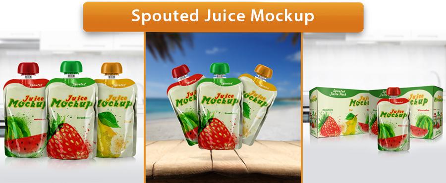 Plastic Bottle Mockup - 25