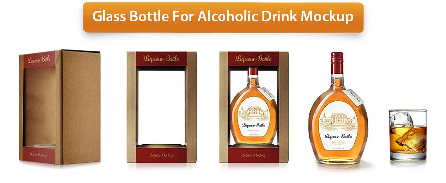 Plastic Bottle Mockup - 21