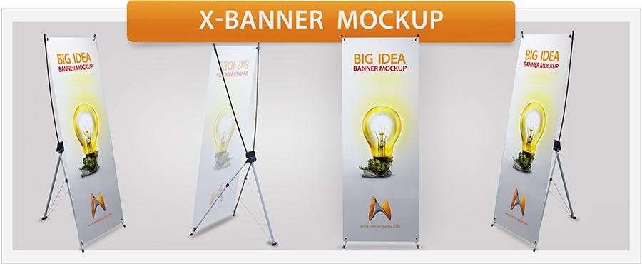 Roll-Up Banner Mockup - 3