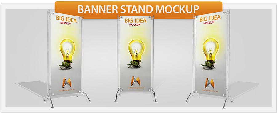 Roll-Up Banner Mockup - 2