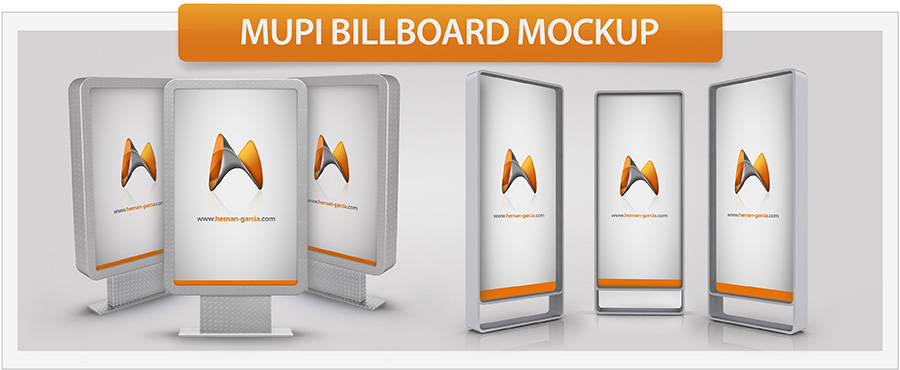 Roll-Up Banner Mockup - 8