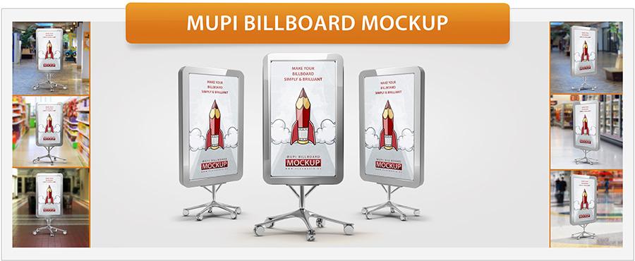 Roll-Up Banner Mockup - 26
